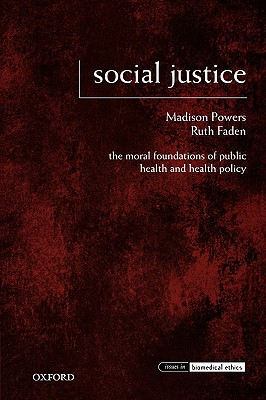 Social Justice By Powers, Madison/ Faden, Ruth